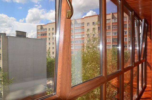 теплое остекление французского балкона Ульяновск